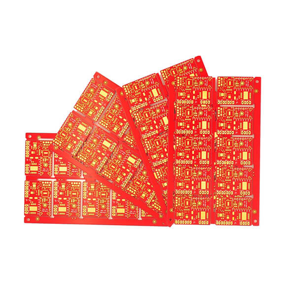 OEM Single Layer PCB with Green Solder Mask Factory