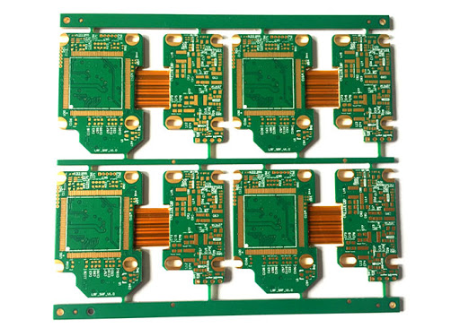 4 layers HDI Rigid-flex PCBs