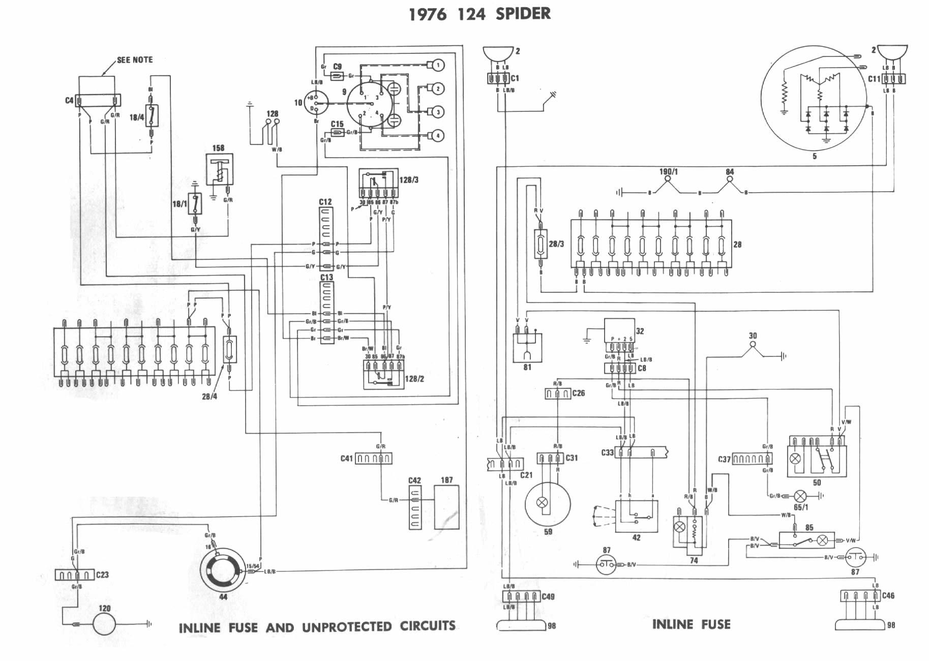 Alfa Romeo Spider Engine Assembly Diagram