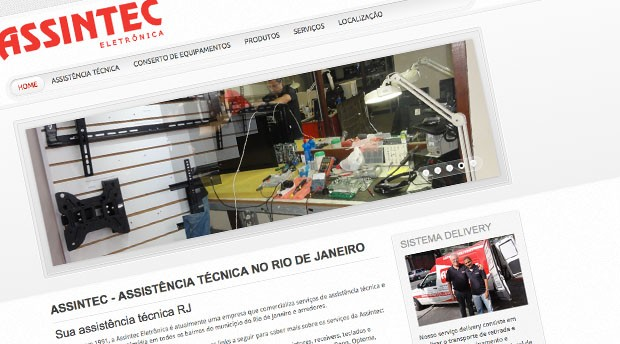 Otimização de site em Joomla! para Assintec