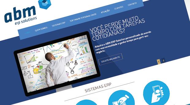 Desenvolvimento de site para Empresa de Software