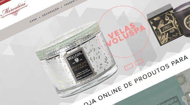 Criação de loja virtual para Mercatini