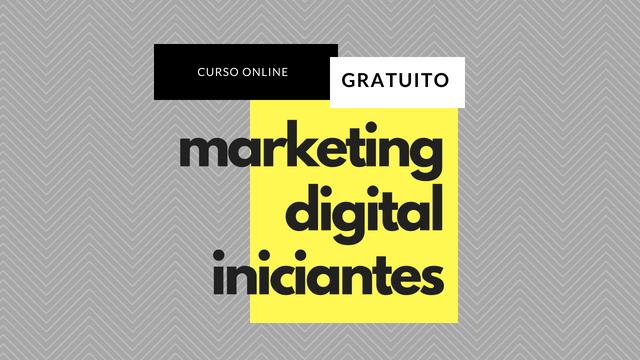 Curso de Marketing Digital para Iniciantes Online e Gratuito