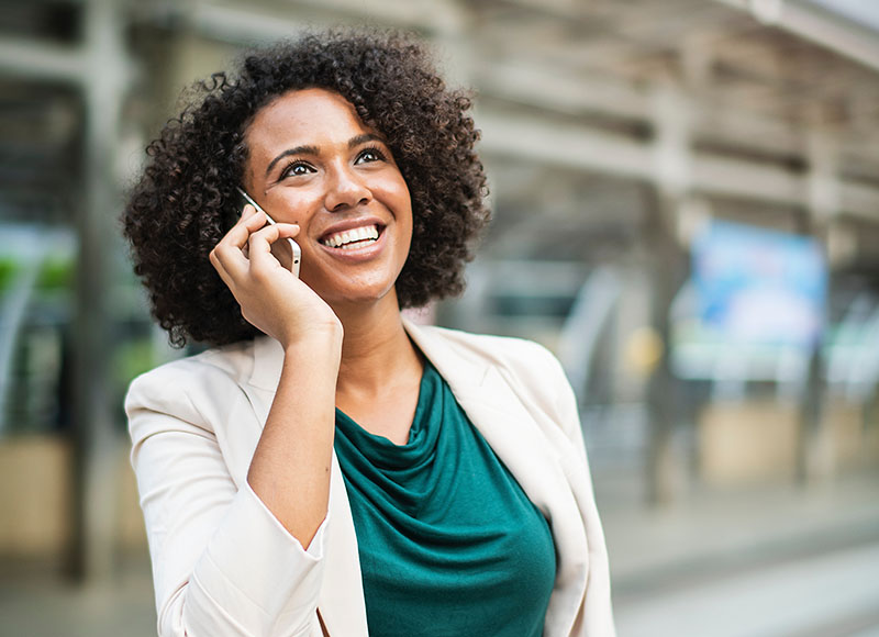 Med Miralix som mobil-løsning kan du give god kundeservice - også når du er på farten