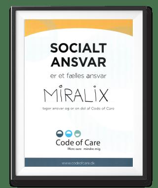 Miralix er en del af Code of Care