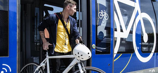 Tog fra Nordjyllands Trafikselskab