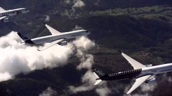 Impresionante Video de 5 Nuevos Aviones de Airbus Volando en Formación