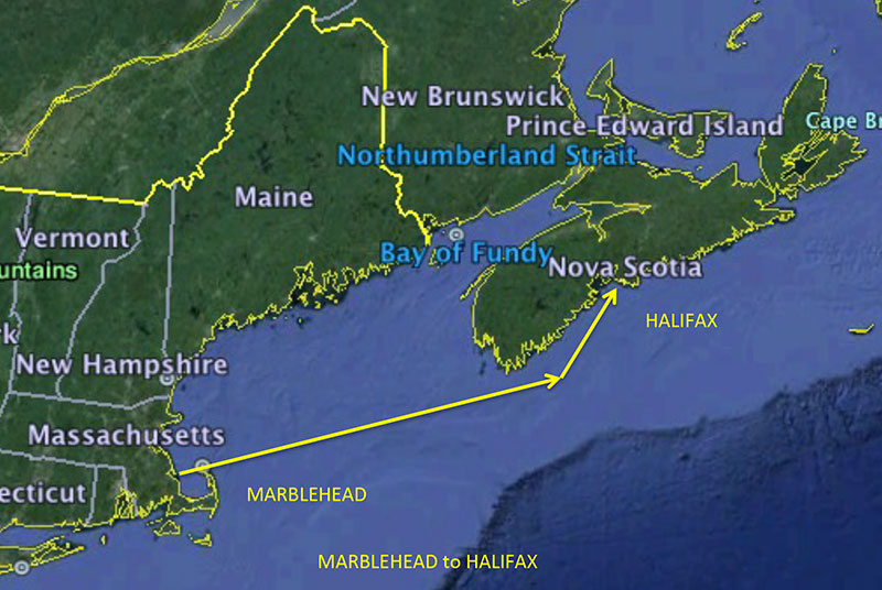 Offshore Racing Marblehead To Halifax Miramar Sailing