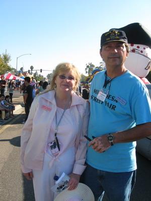 Street Fair Chairs Robin Stutsman and Mike Davis