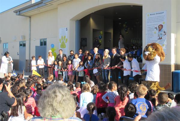 Jonas Salk Elementary School Dedication