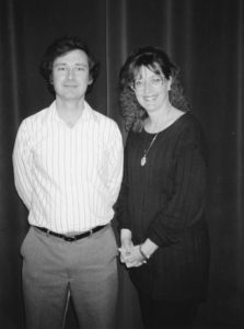 Jeff Stevens and Sharon McCollum
