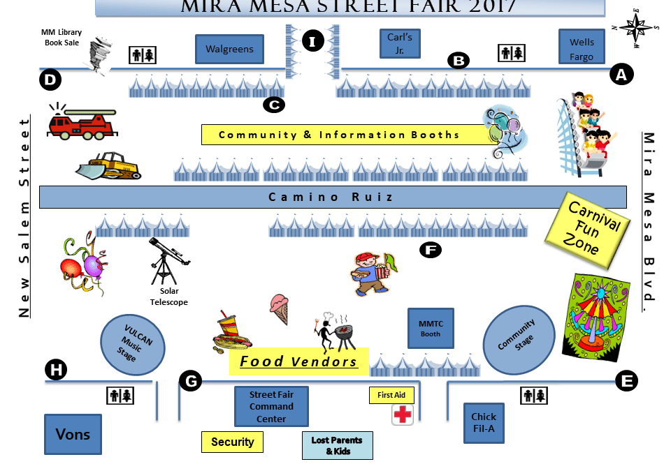 Mira Mesa Street Fair, Saturday October 7, 2017