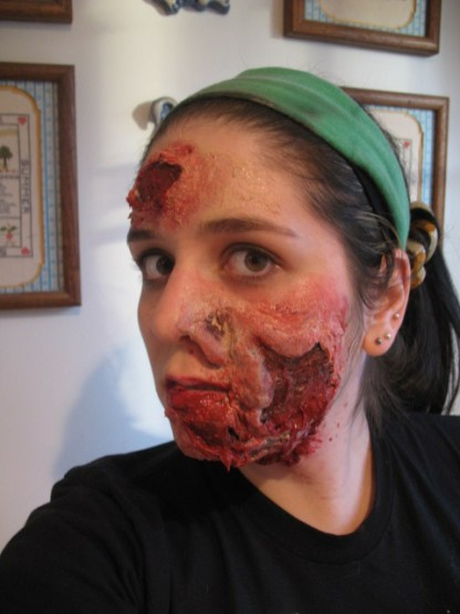 rotting face, true blood, pam, silicone