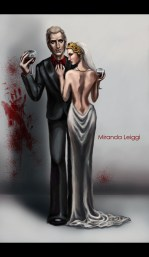 vampire, vampires, wine glass, blood, high class, fashion, suit, dress, digital art, formal wear