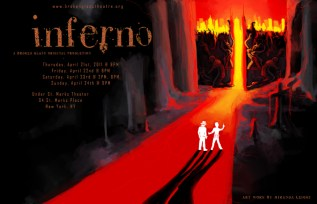 poster, inferno, dante's inferno, gates of hell, dante and virgil, digital art