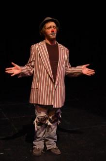 clown, hobo clown, sad clown, theatrical make up