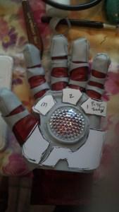 wonderflex, iron man cosplay, glove, pattern