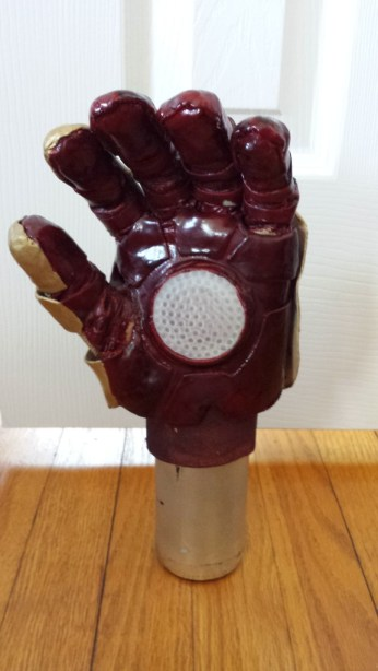 iron man cosplay glove