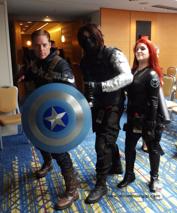 dragon con 2014, cosplay, winter widow
