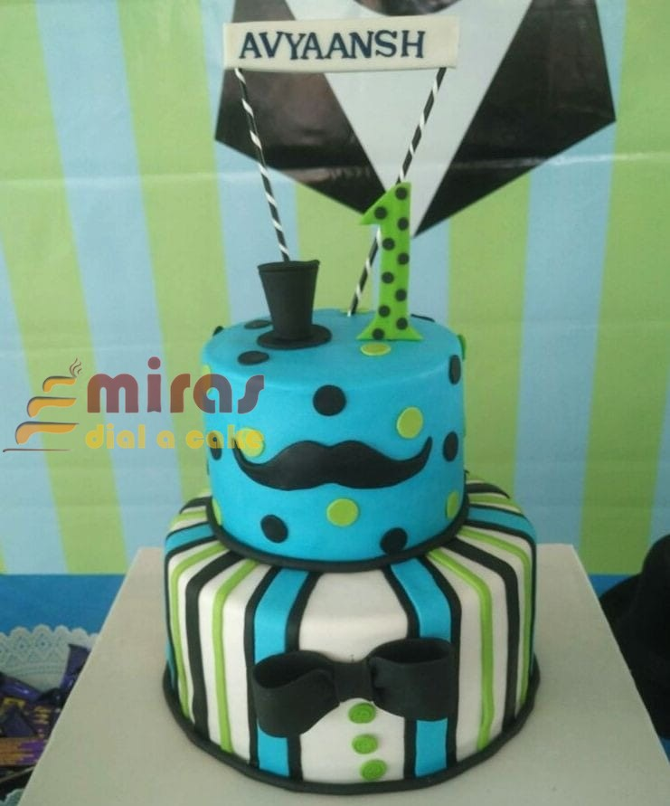 Online Little Man Birthday Cake Customised Cakes Delivered In Bangalore