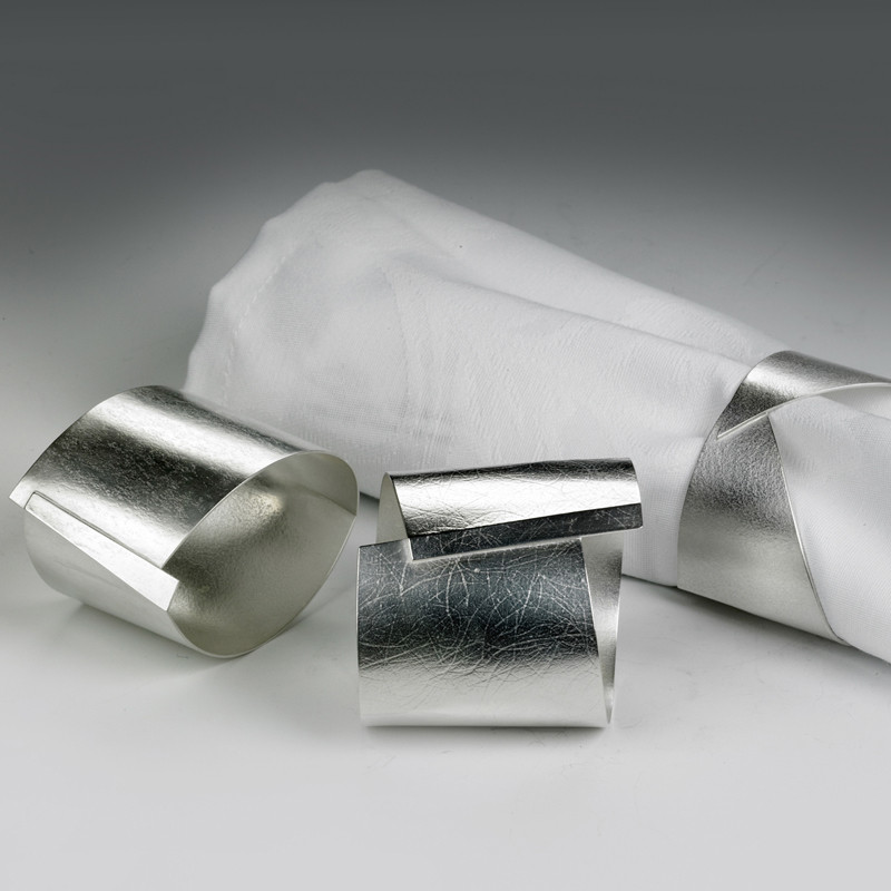 Silver Napkin Rings Designer Silverware Designer Napkin