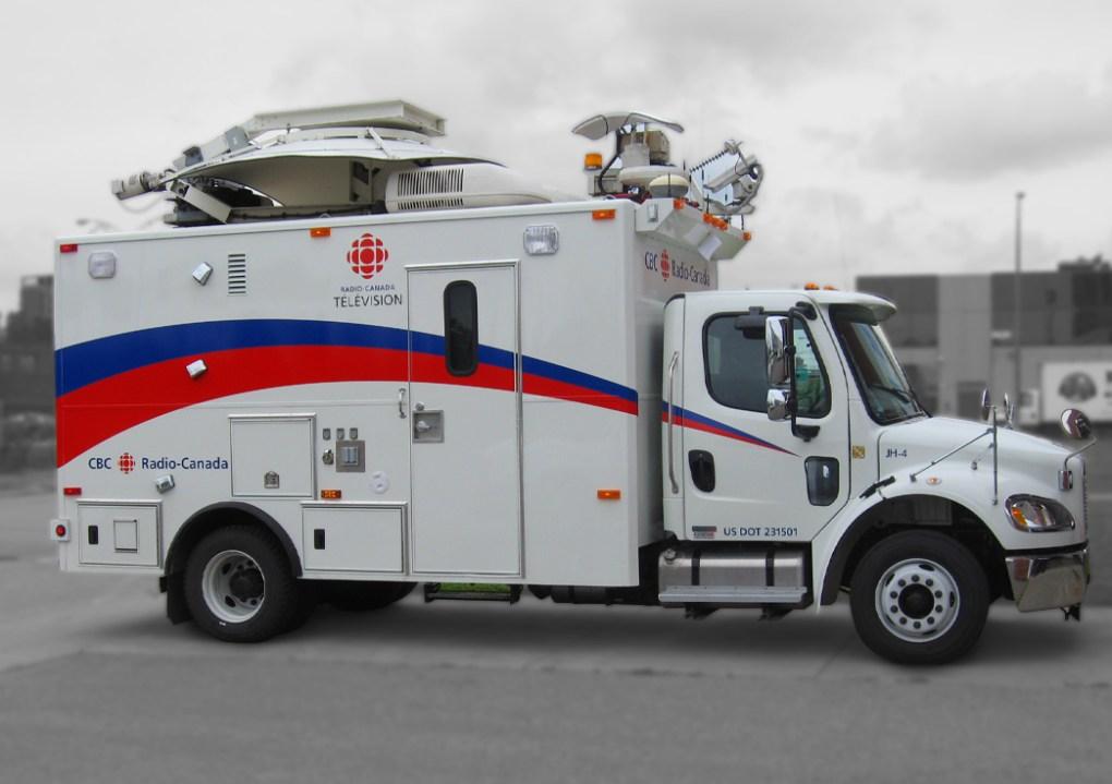 Radio-Canada | Habillage et lettrage de véhicule