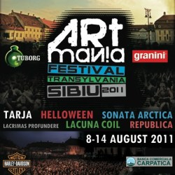 Deschidere oficiala Sibiu Arena la ARTmania Festival 2011