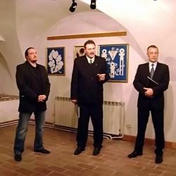"""Vernisajul expozitie """"Culoarea Simbolului. Armonia"""" (video)"""