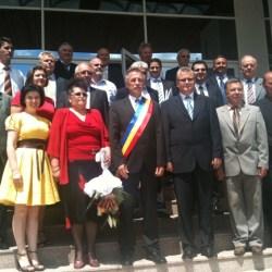Reorganizarea Primariei Medias se discuta la Consiliul Local