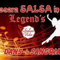 Seara de Salsa la cafeneaua Legend`s