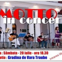 Concert Motto la Gradina de vara Traube