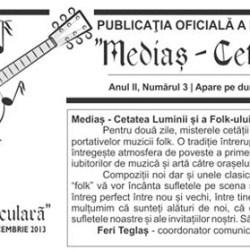 Citeste ziarul festivalului Medias Cetate Seculara