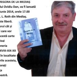 """Ovidiu Dan lanseaza """"Egregora de la Medias"""""""