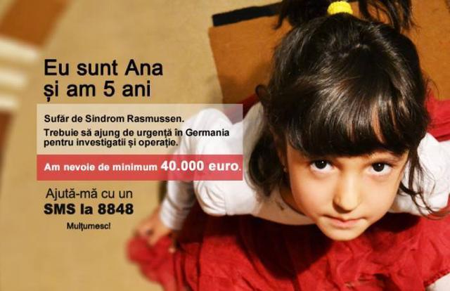 Caz Umanitar Ana SMS 8848