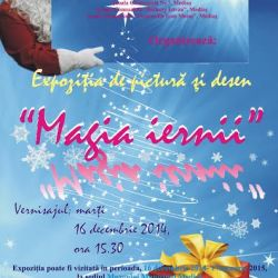 """Expozitia """"Magia iernii"""" la Muzeul Municipal Medias"""