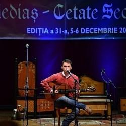 "Mihai Boicu a castigat trofeul la Festivalul ""Medias Cetate Seculara"" 2014"