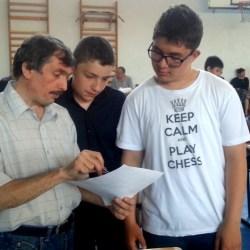 Campionatul national de sah - faza judeteana la Medias