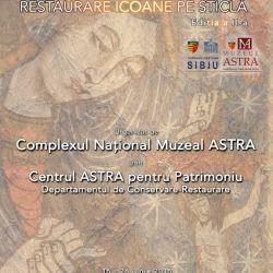 Muzeul ASTRA: Workshop de restaurare icoane pe sticla