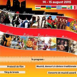"""Programul festivalului intercultural """"Medias Ethnic Festival"""""""