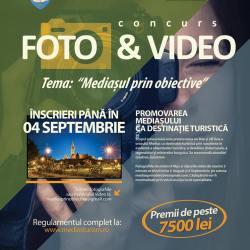 """Concursul de fotografie si film """" Mediasul prin obiective"""""""