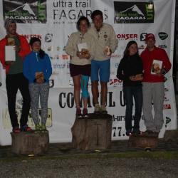 Mediasul a urcat pe podium la Ultra Trail Fagaras 2015