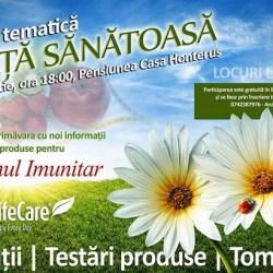 Seara tematica de VIATA SANATOASA - Sistemul Imunitar