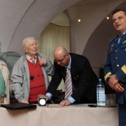 Veteran mediesean, medaliat la 93 de ani