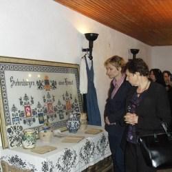 Dascalii medieseni, in Cetatea Mosna