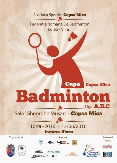 Badminton Copsa Mica 2016