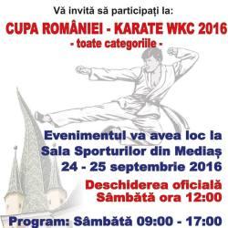 Cupa Romaniei - Karate WKC 2016