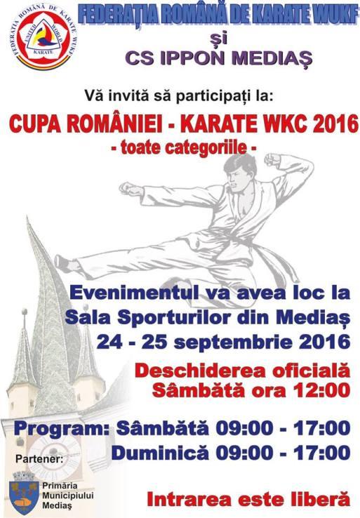 cupa karate 2016