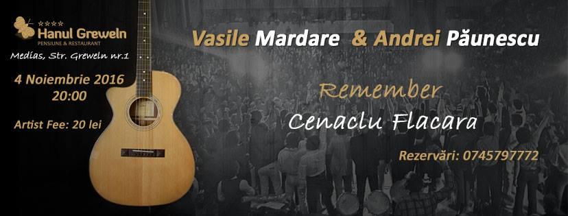 concert Vasile Mardare si Andrei Paunescu