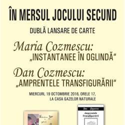 Dubla lansare de carte, Maria si Dan Cozmescu