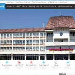 Site-ul Primariei Medias: schimbare de look